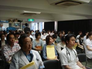 ▲感染症に関する勉強会