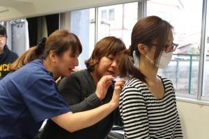 △(左:講師 那須赤十字病院 島田知子 特定(診療)看護師