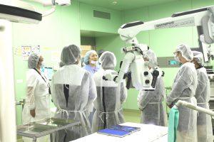△院内見学ツアー① 手術室見学のようす