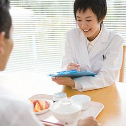 個人栄養食事指導について
